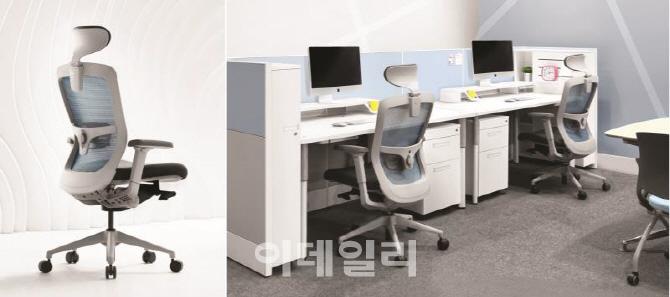 이데일리 - 코아스, 2016년형 사무용 의자 및 가구 신제품 출시