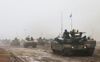 육군 기계화부대 전투장비 기동훈련