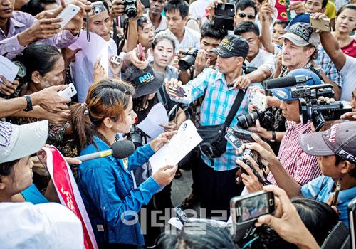 한세실업,미얀마 공장근로자 대규모 부당해고 의혹