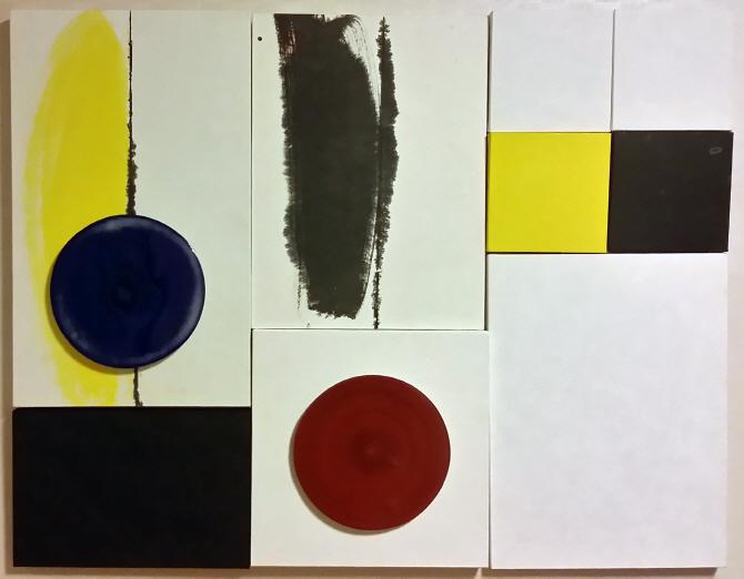 [e갤러리] `도자-펠트` 극적인 균형감…임미강 `화월명-소청홍원`