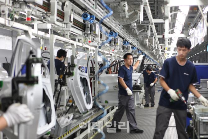 [르포]현대차 中 800만대 판매 일군 베이징 3공장…비결은 높은 생산성