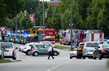 독일 뮌헨 총기 테러 발생