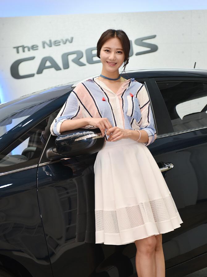 '오늘은 더 뉴 카렌스의 연인' 모델 송다혜