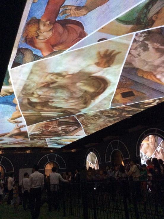 최첨단 컨버전스아트로 부활…미켈란젤로 `천지창조`