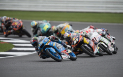 영국 실버스톤서킷 `MotoGP` 경기...