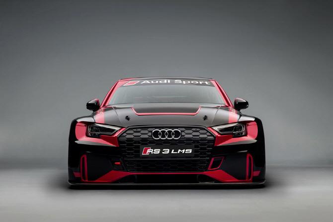 아우디, 투어링카 레이스를 위한 RS3 LMS 레이스카 개발
