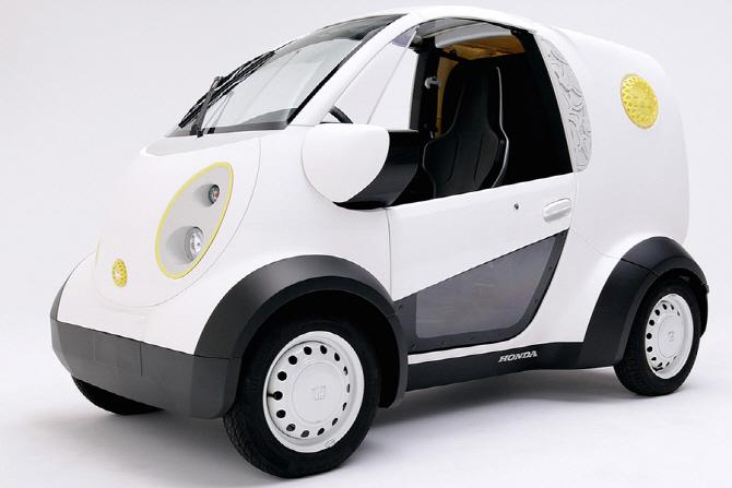 혼다, 3D 프린팅으로 제작한 초소형 전기차 선보여