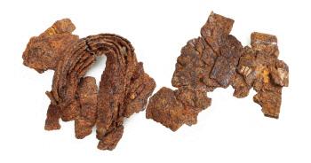 김유신 장군 집터에서 7세기 비늘갑옷 첫 출토