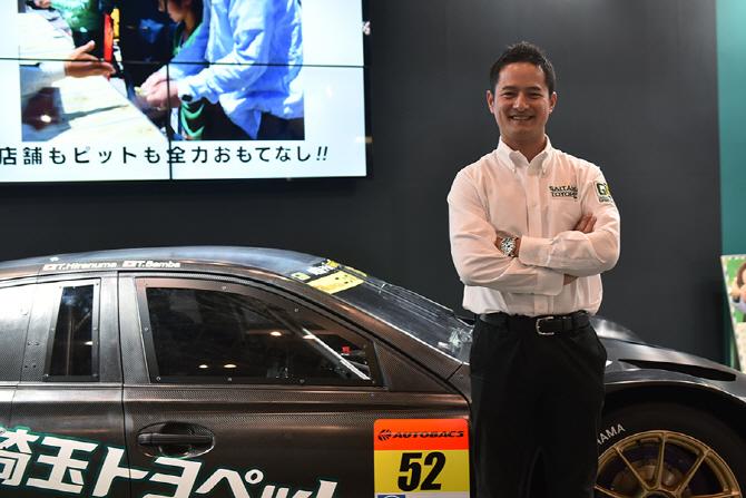 [2017 도쿄 오토살롱] 사이타마 토요펫 그린 브레이브 밤바 타쿠 슈퍼 GT 복귀 인터뷰