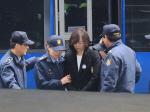 조윤선, 구속 후 첫 특검 출석