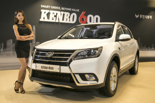 국내 첫 중국산 SUV `켄보 600`, 한달 만에 `완판`