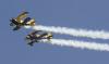 [포토] 스칸디나비아 곡예비행팀, 하늘에 그린 하트