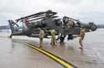 아파치 헬기, 독일 람스타인 美공군기지 도착