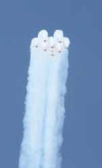 공군 특수비행팀 `블랙이글`