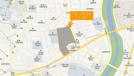 호반건설, 대전 도마·변동 11구역 재개발 시공사 선정