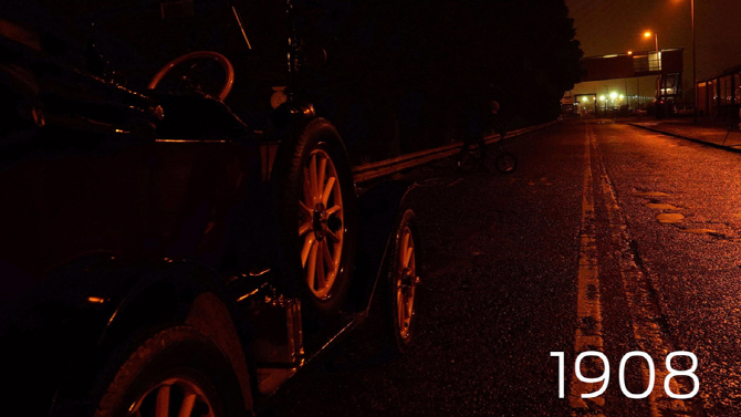 포드, 어둠 속에서 운전자를 구한 헤드라이트를 말하다