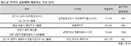 """집단대출 규제 여파… """"중도금 무이자 아파트 잡아라"""""""