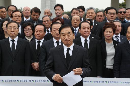 """[전문] 이재오, 대선출마 선언…""""대통령 1년만 하고 물러날 것`"""