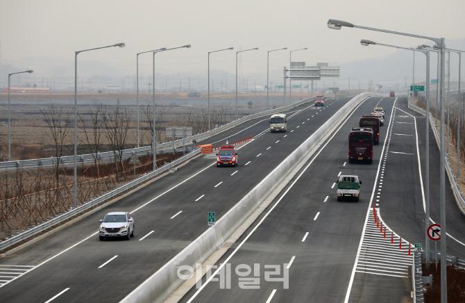 [포토] 인천김포고속도로- 검단양촌 나들목