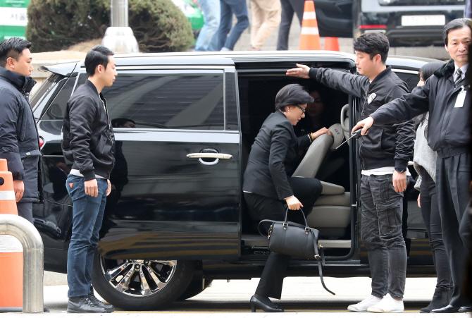 [포토] `신격호 세번째 부인` 서미경 법원 재판 출석