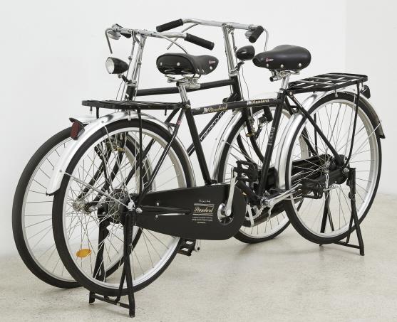 [e갤러리] 갈수도 없고 머물수도 없다…안규철 `두 대의 자전거`