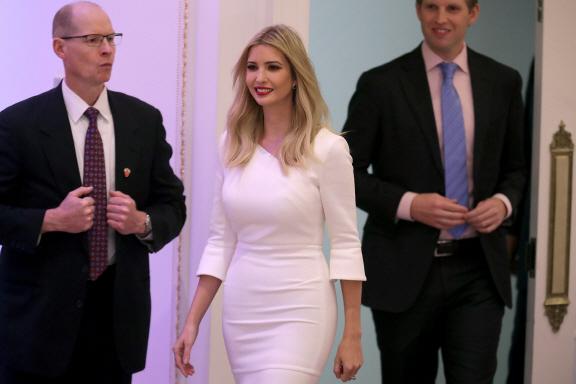 트럼프 딸 이방카, 백악관에 사무실 마련한다