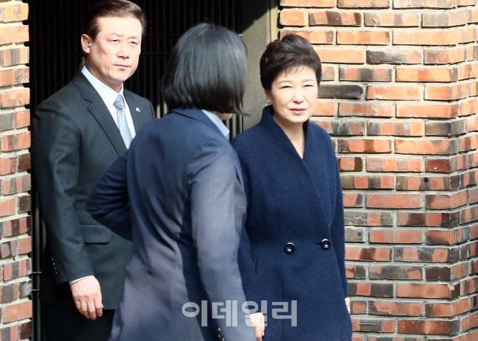 [포토]박근혜 전 대통령, `검찰 소환 조사`