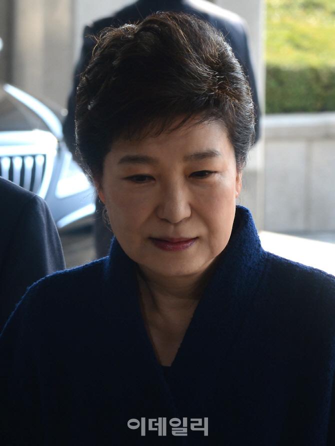 [포토]박근혜 `성실히 조사에 임하겠다`
