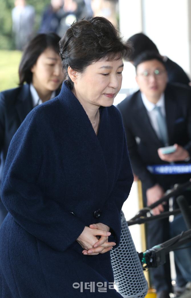 [포토]박근혜 전 대통령 `심경은`