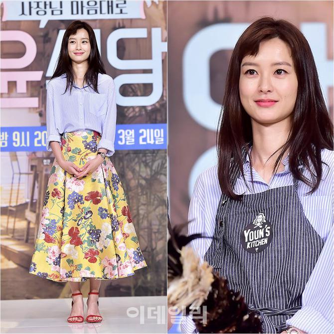 [스타 메이크업] `윤식당` 제작발표회 현장, 정유미 메이크업 하우투