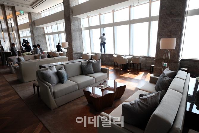 [포토]롯데월드타워 시그니엘 서울, `럭셔리한 공간`