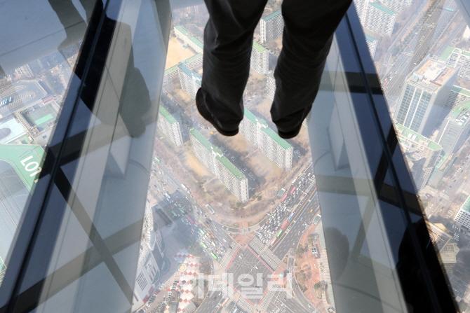 [포토]롯데월드타워 서울 스카이, `세계 3위 높이 전망대`