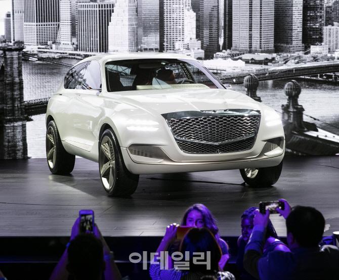 제네시스, 수소 SUV 콘셉트카 'GV80' 세계 최초 공개