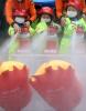 [포토]소화기로 신속하게 화재진압하는 리틀 소방관들