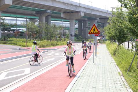 의왕도시공사, 자전거 무료 교육