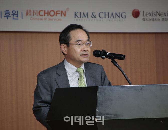 [포토]이영대 특허청 차장, 21일 한국지식재산협회 워크숍 참석