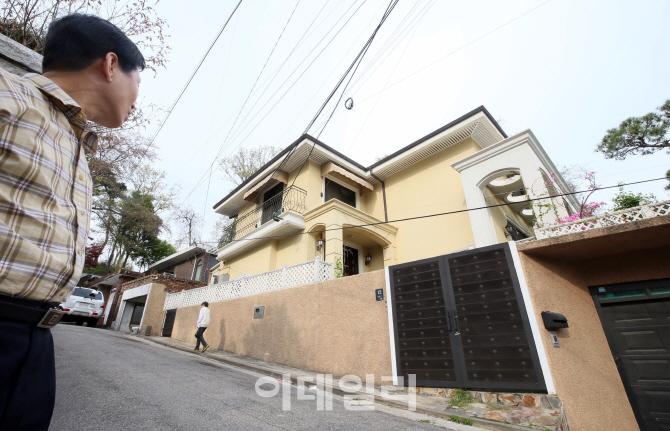 [포토]박근혜 전 대통령 내곡동 새 자택