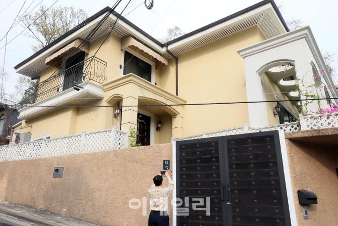 [포토]박근혜 전 대통령이 구입한 주택