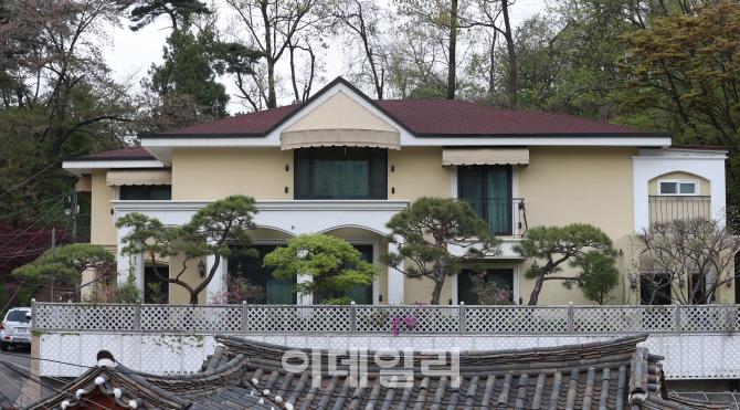 [포토]박근혜 전 대통령 내곡동 사저