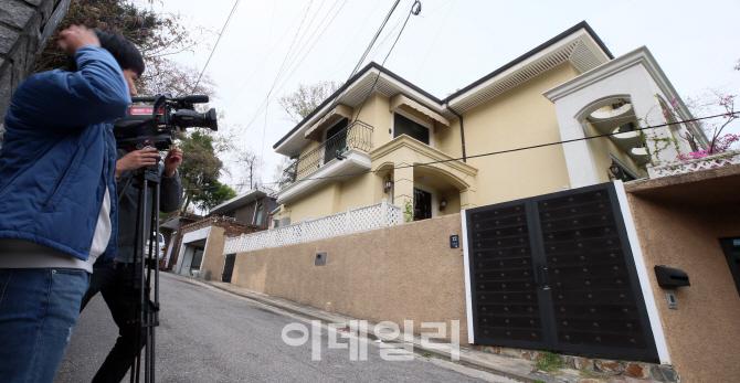 [포토]박근혜 전 대통령 새 자택 구입