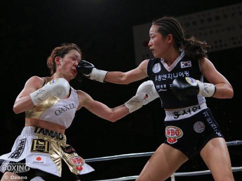 홍서연, WBO챔피언 등극…3년 만에 메이저 왕좌 `복귀`