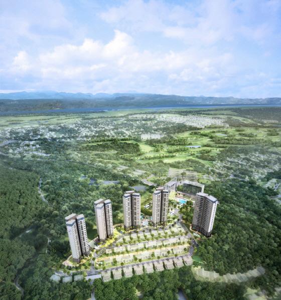 포스코건설, 필리핀 클락서 '더샵 클락힐즈' 508가구 분양