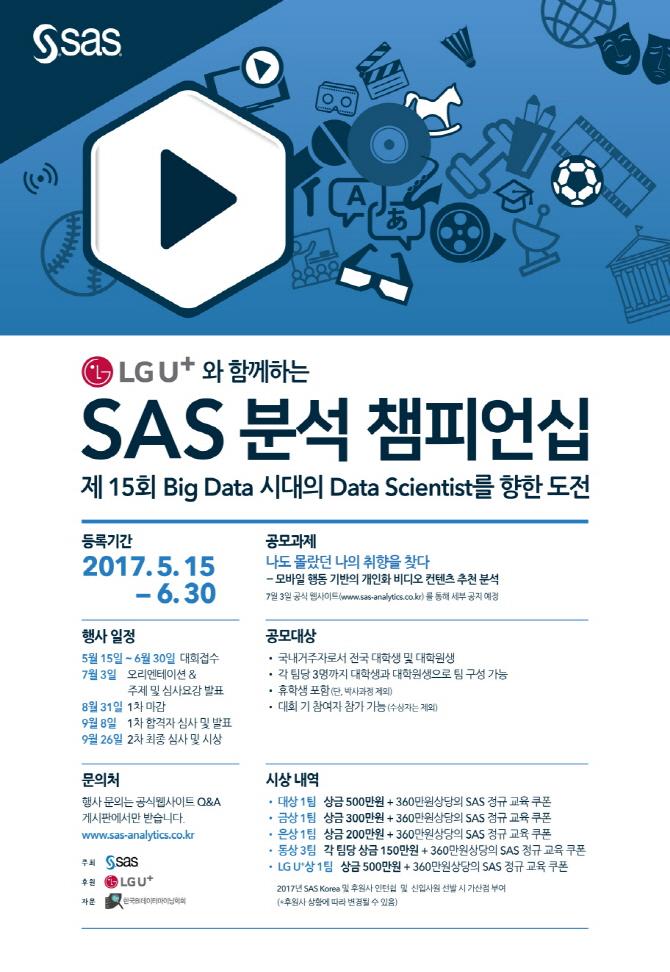 SAS코리아, `제15회 SAS분석 챔피언십` 개최