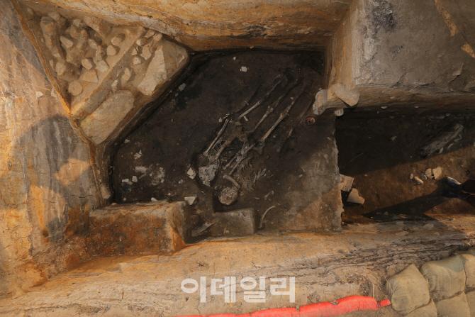 경주 월성 성벽서 인골 출토…제물 추정 `첫 사례`