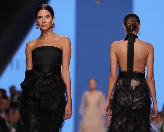 [포토]아랍 패션위크, `블랙 드레스의 매력`