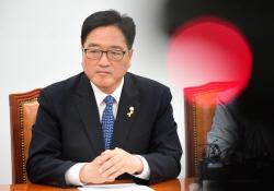 우원식 더민당 원내대표 기자회견