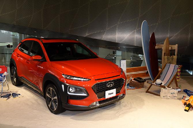 소형 SUV 현대 코나! 세계 최초 공개의 현장