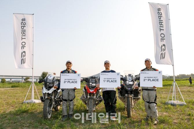 BMW모토라드, 'GS 트로피 2018' 한국대표 3인 선발