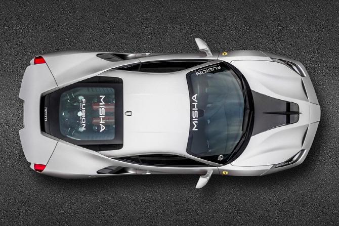 [포토] 역동성이 돋보이는 미샤 디자인 페라리 488 GTB