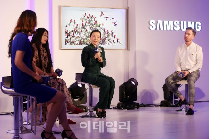 삼성 `더 프레임`, 중국명 `「화·삐」이슈띠엔스`로 현지 공략